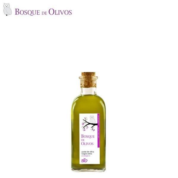 Botella 500ml aceite oliva virgen extra ecológico. Tienda Online Bosque de Olivos. Somos productores. Te lo llevamos a casa.