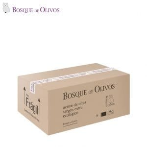 Caja 18 latas 05litro aceite oliva virgen extra ecológico