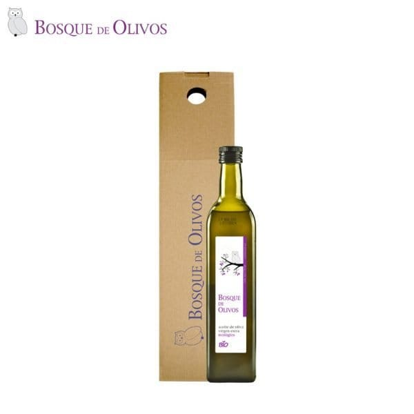 Case one unit 750ml Bottle organic extra virgin olive oil