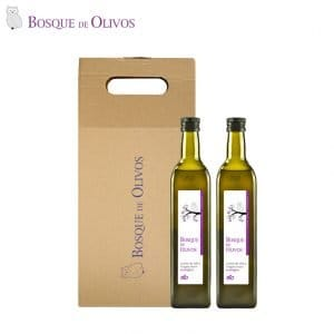 Case two unit 750ml Bottle organic extra virgin olive oil